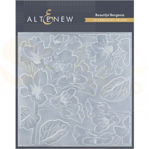 Altenew, embossingfolder Beautiful Bergenia ALT4410