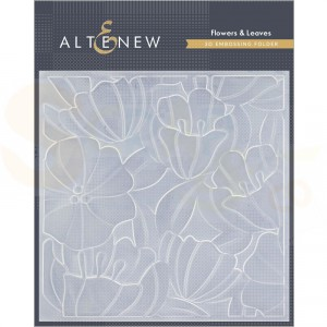 Altenew, embossingfolder Flowers & Leaves AL4412