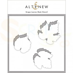 Altenew, Stencil, Grape Leaves ALT4433