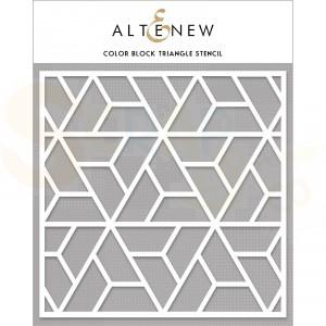 Altenew, Stencil, Color block triangle ALT4470