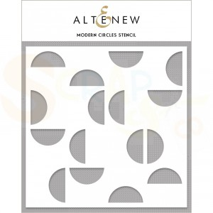 Altenew, Stencil, Modern circles ALT4474