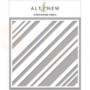 Altenew, Stencil, Stripe builder ALT4476