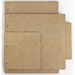 460.440.250 DDBD MDF art, mini album rectangle