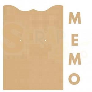 460.440.411 Dutch Doobadoo MDF Art, Memo klembord