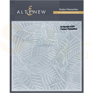 Altenew, embossingfolder Perfect Poinsettias ALT4656