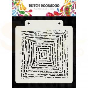 470.715.175 Dutch Doobadoo Mask Art, Grunge Lines