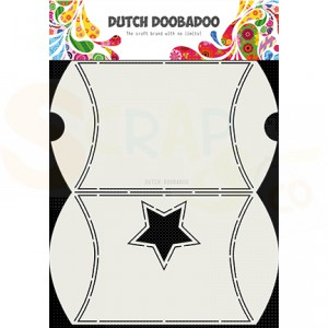 470.713.072 Dutch Doobadoo Box Art, Envelope with star