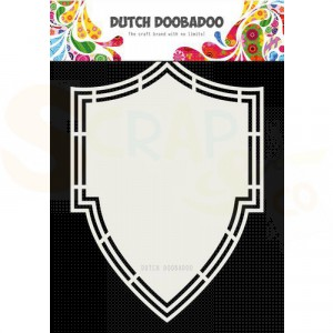 470.713.205 Dutch Doobadoo Card Art, Shield A5