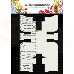 470.713.745 Dutch Doobadoo Card Art, Autumn tekst