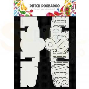 470.713.752 Dutch Doobadoo Card Art, Sint en Piet