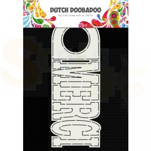 470.713.773 Dutch Doobadoo Card Art, Merci