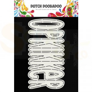 470.713.790 Dutch Doobadoo Card Art, Opkikker