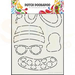 470.713.801 Dutch Doobadoo Shape Art, Built Up Bear Zomer
