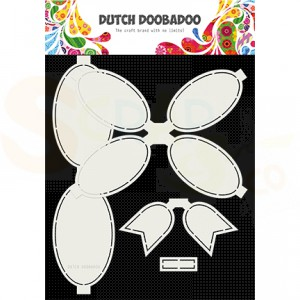 470.713.806 Dutch Doobadoo Shape Art, Bow 4pc