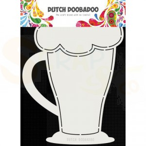 470.713.819 Dutch Doobadoo Card Art, Cappuchino