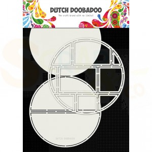 470.713.833 Dutch Doobadoo Card Art, Easel card circle