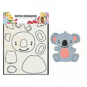 470.713.837 Dutch Doobadoo Card Art, Built Up Koala