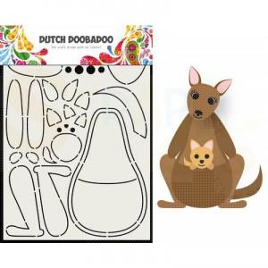 470.713.841 Dutch Doobadoo Box Art, Built Up Kangaroo