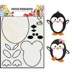 470.713.842 Dutch Doobadoo Box Art, Built Up Pinquin
