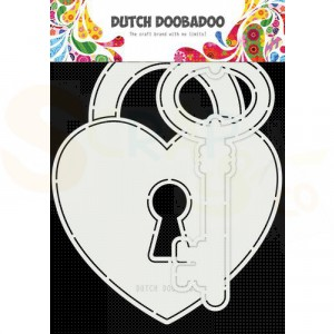 470.713.844 Dutch Doobadoo Card Art, Key to my heart
