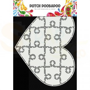 470.713.847 Dutch Doobadoo Card Art, Puzzel hart