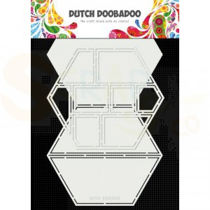 470.713.850 Dutch Doobadoo Card Art, Easel card Hexagon