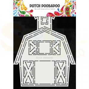 470.713.851 Dutch Doobadoo Card Art, Barn