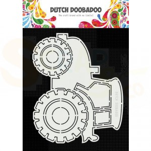 470.713.852 Dutch Doobadoo Card Art, Tractor