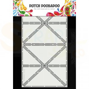 470.713.854 Dutch Doobadoo Card Art, Tricon fold