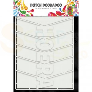 470.713.857 Dutch Doobadoo Card Art, Hoera album