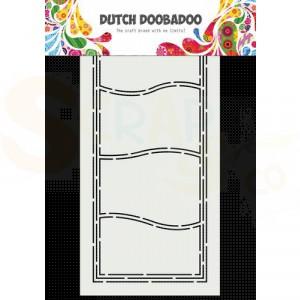 470.713.860 Dutch Doobadoo Card Art, Slimline Golven