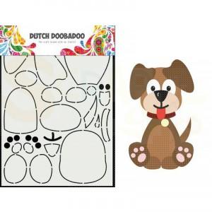 470.713.866 Dutch Doobadoo Card Art, Built Up Hondje