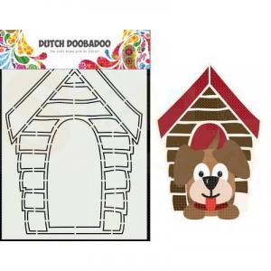 470.713.868 Dutch Doobadoo Card Art, Hondenhok