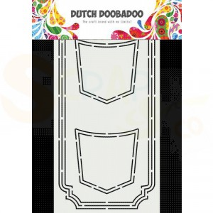 470.713.870 Dutch Doobadoo Card Art Slimline, Jeans