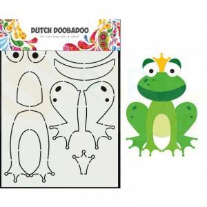 470.713.875 Dutch Doobadoo Card Art, Kikker