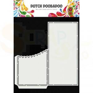 470.713.877 Dutch Doobadoo Card Art, Slimline Scallop Pocket