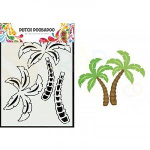 470.713.879 Dutch Doobadoo Card Art, Palmboom