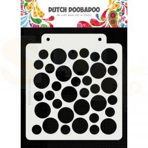 470.715.147 Dutch Doobadoo Mask Art, Large circle