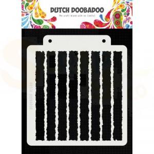 470.715.149 Dutch Doobadoo Mask Art, Grunge stripe