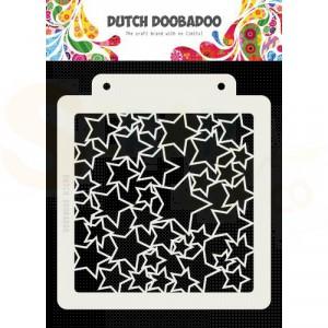 470.715.151 Dutch Doobadoo Mask Art, Sterren