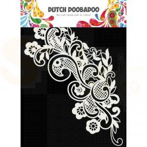 470.715.168 Dutch Doobadoo Mask Art, Kant