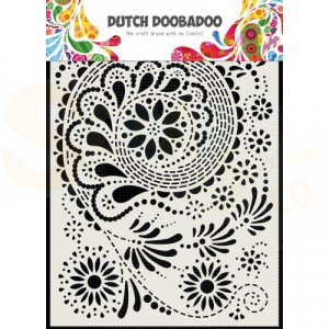 470.715.171 Dutch Doobadoo Mask Art, Paisley