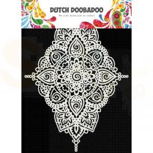 470.715.172 Dutch Doobadoo Mask Art, Diamond Shaped
