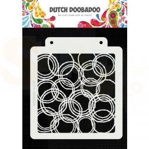470.715.179 Dutch Doobadoo Mask Art, Grunge cirkels