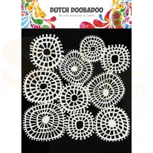 470.715.618 Dutch Doobadoo Mask Art, Lijnen cirkels