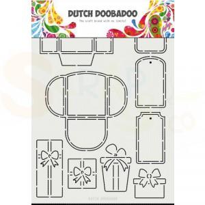 470.715.813 Dutch Doobadoo Mask Art, Labels and Tags