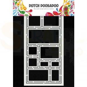 470.715.827 Dutch Doobadoo Mask Art Slimline, Vierkanten
