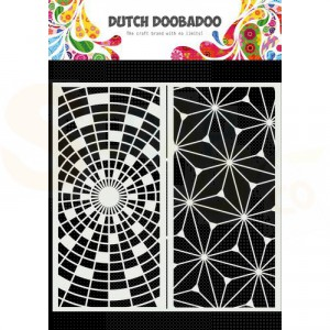 470.784.003 Dutch Doobadoo Mask Art, Slimline Art