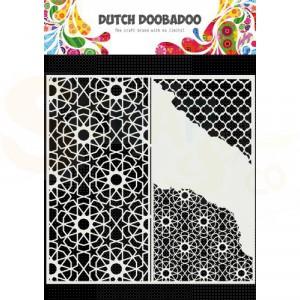 470.784.004 Dutch Doobadoo Mask Art, Slimline Cracked Patterns