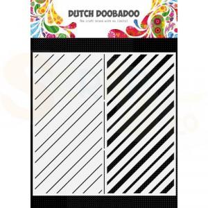 470.784.010 Dutch Doobadoo Mask Art, Slimline Stripes